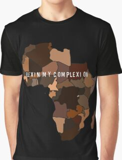 Flexin My Complexion Graphic T-Shirt
