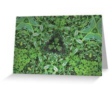 Prismatic Foliage 18 Greeting Card