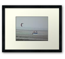 Sea Transport Framed Print