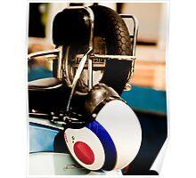 Lambretta helmet Poster