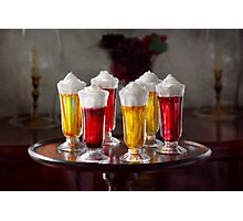 Food - Sweet - Let's parfait all night  Photographic Print