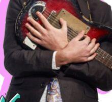 Mac Demarco licking a guitar Sticker