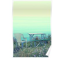 A Garden with a View Poster