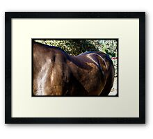 Strong and Gentle Beauty Framed Print