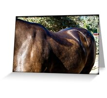 Strong and Gentle Beauty Greeting Card