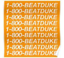 1-800-BEATDUKE –Syracuse Hotline Bling Poster