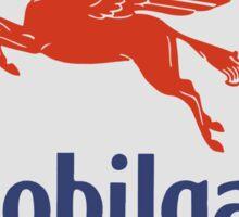 Mobilgas - Sign Sticker