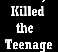 Society Killed the Teenage Dreams  by Fleeurrr