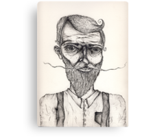 Mister Sir illustration Canvas Print