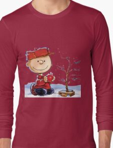 snoopy christmas Long Sleeve T-Shirt