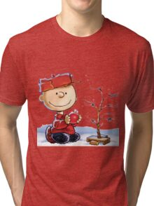 snoopy christmas Tri-blend T-Shirt