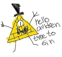 Hello Children time to Sin by John Egbert