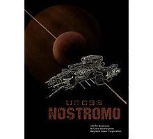 USCSS Nostromo  Photographic Print