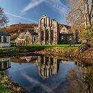 Abbey Reflection by Adrian Evans