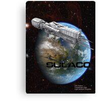 USS Sulaco Canvas Print