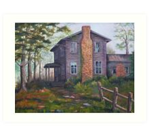 Old House Painting Art Print