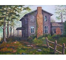 Old House Painting Photographic Print