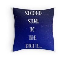 Peter Pan Neverland Inspired Once Upon a Time. Throw Pillow