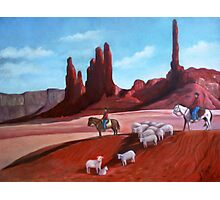 Navajo/Southwestern Painting Photographic Print