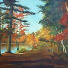 Forest Road Painting by JamieTifft