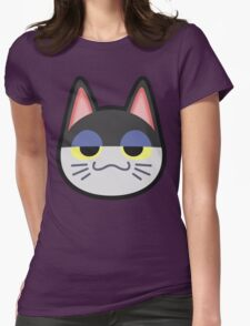 PUNCHY ANIMAL CROSSING Womens Fitted T-Shirt