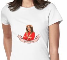 Captain Sharon Raydor, Precious Cupcake Womens Fitted T-Shirt