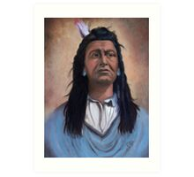 Native American Painting Art Print