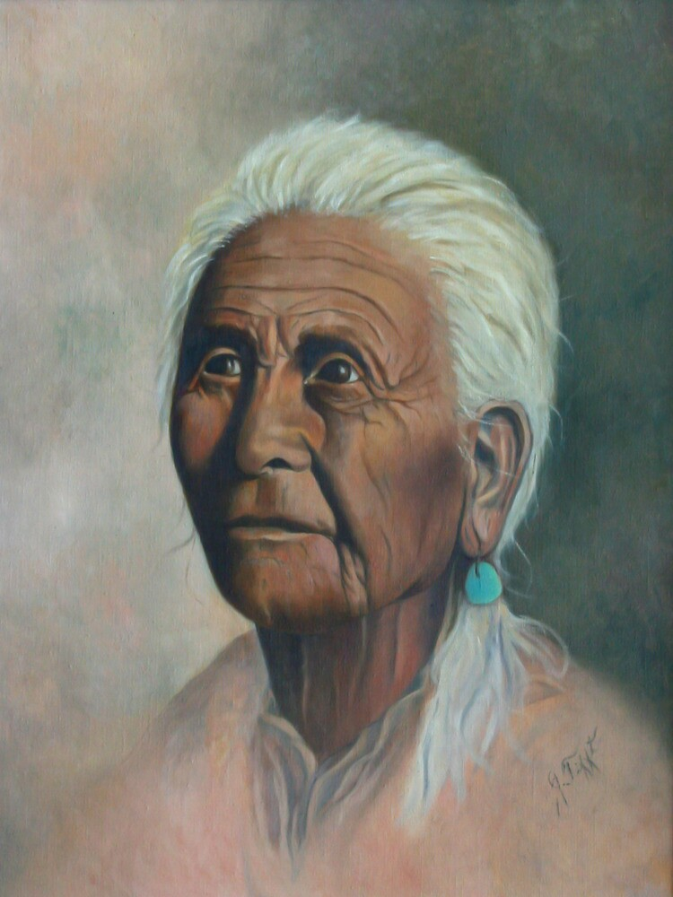 Native American Painting by JamieTifft