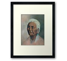 Native American Painting Framed Print