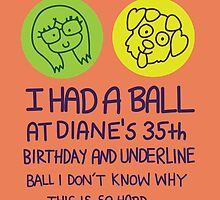 BoJack Horseman - Diane's Birthday by mversion