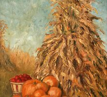 Corn Husks Painting by JamieTifft
