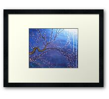 Cherry Tree Painting Framed Print
