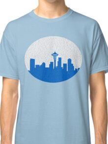 Seattle - (rainy) Classic T-Shirt