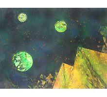 Spray paint Space Art Photographic Print