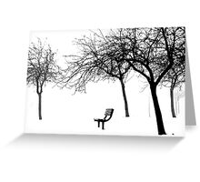The Trees are my Friends.. Greeting Card