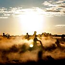 Dirtbikes, Dust And The Right Light by mugshot