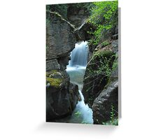 Cottonwood Cascades Greeting Card