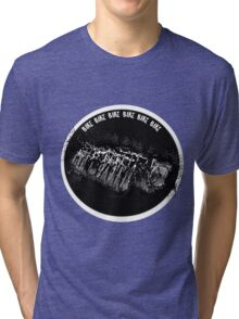 Burn up the road Tri-blend T-Shirt