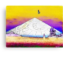 Coke mountain Canvas Print