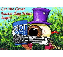 Let the great easter egg hunt begin! Photographic Print