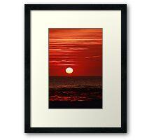 Sunset at the Churn II Framed Print