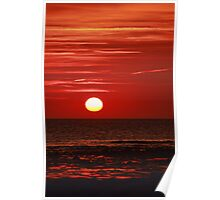 Sunset at the Churn II Poster