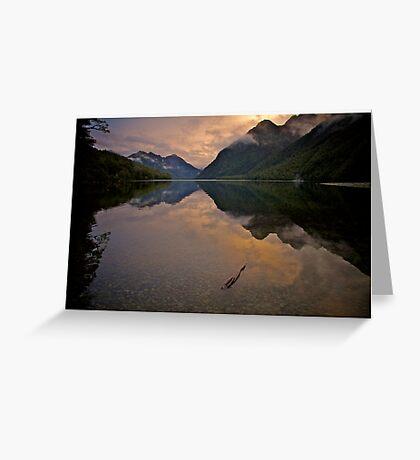 Lake Gunn Greeting Card
