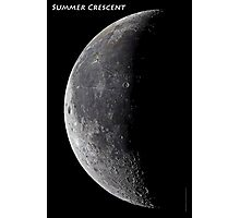 Summer Crescent Photographic Print