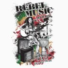 Rebel Music by Lionart