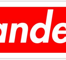 Bernie Sanders box logo Sticker