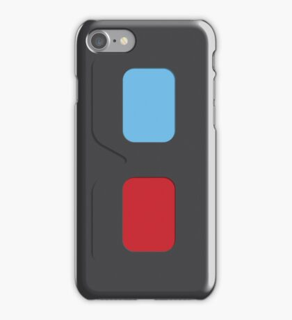 3D Glasses (dark gray) iPhone Case/Skin