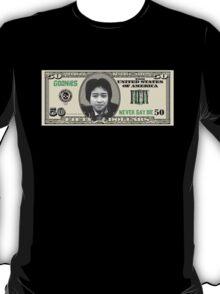 """DATA """"50 Dollar Bill"""" T-Shirt"""