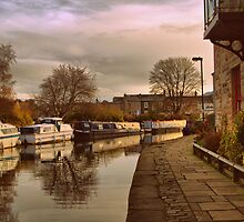 Dawn in Skipton by Irene  Burdell