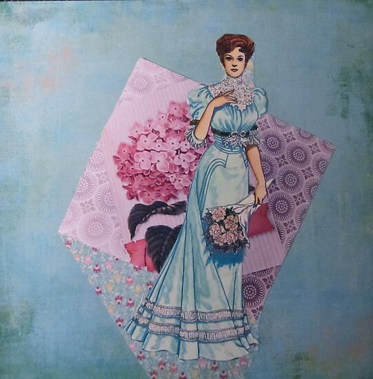Ladies of Fashion: Jeanne by Kanchan Mahon